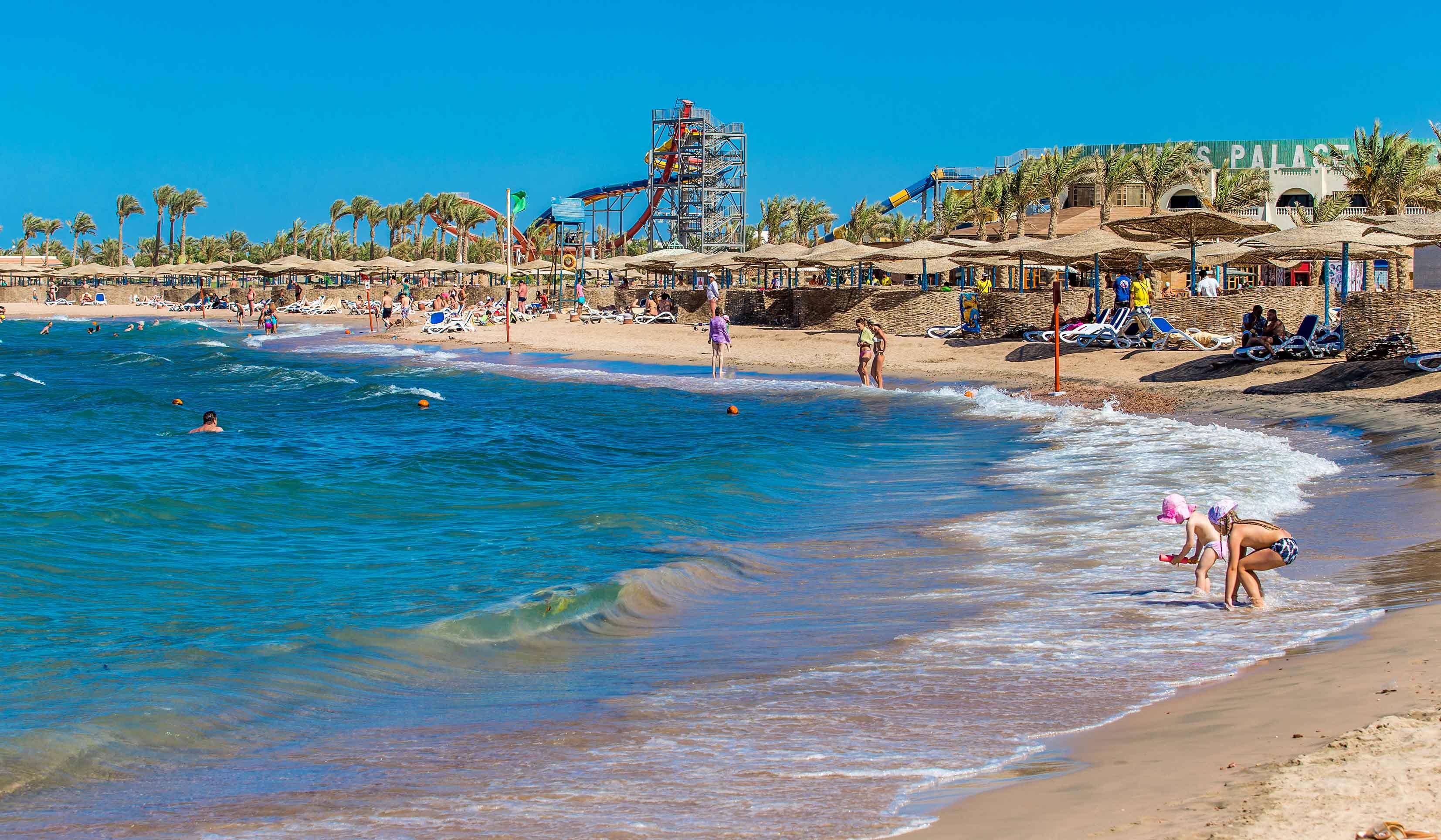 Отправляемся отдыхать в Египет -Пляж Хургада