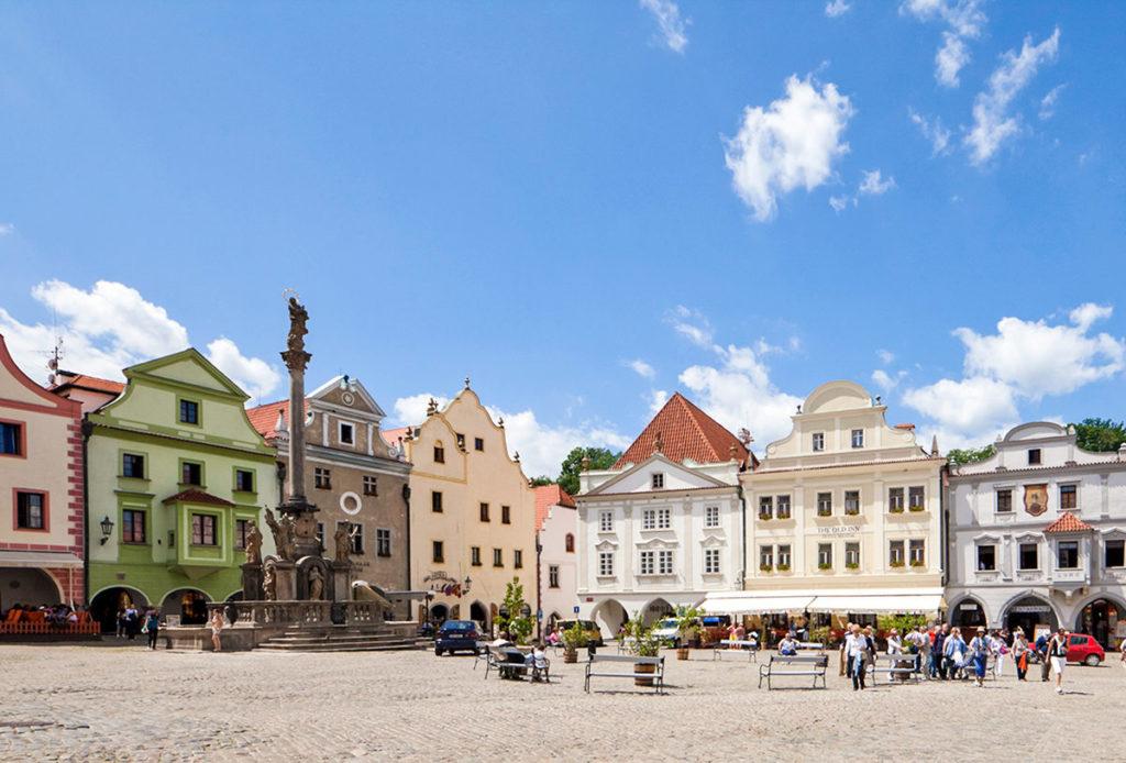Крумлов - Района Старой площади