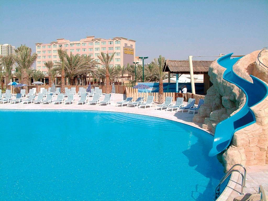Отели ОАЭ - Coral Beach Resort Sharjah 4*