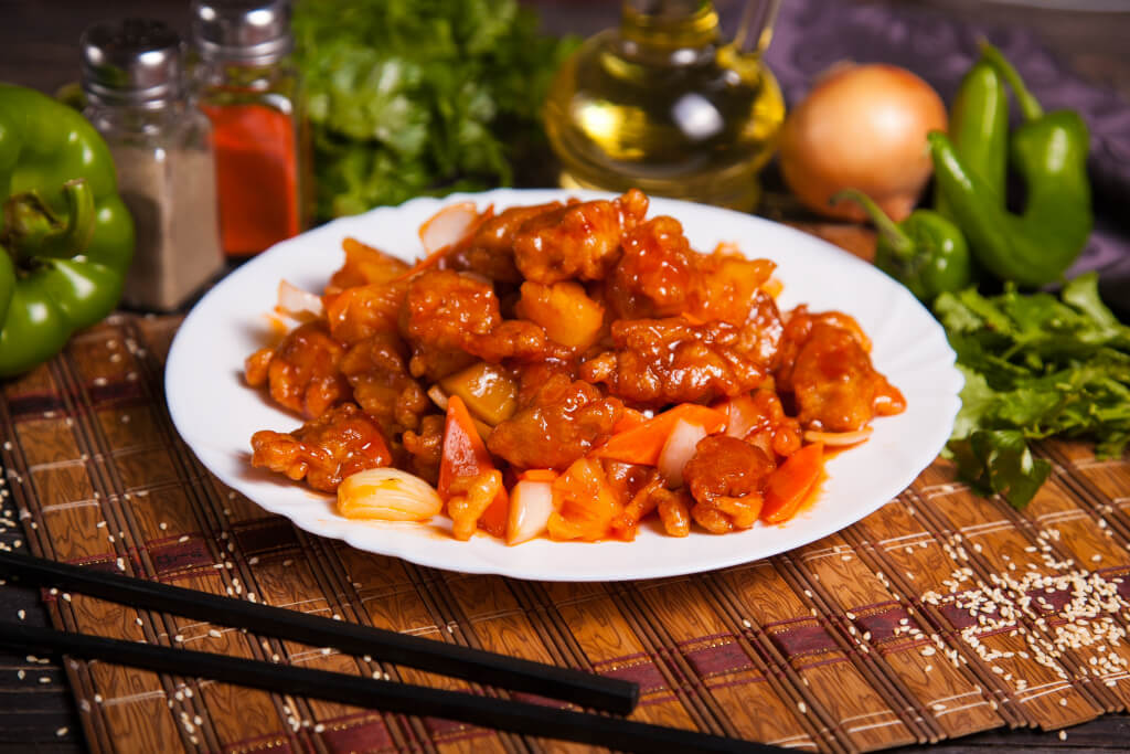 Блюдо из жареной крысы по-китайски
