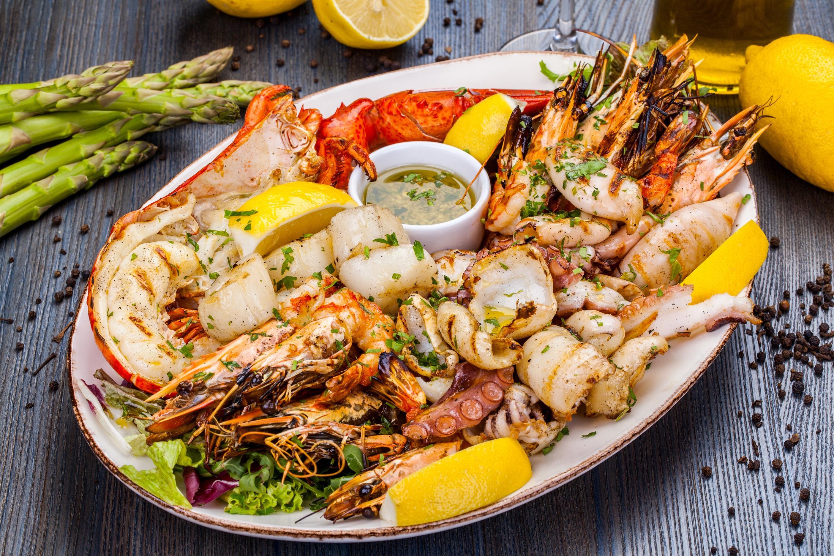 История греческой кухни-изобилие морепродуктов