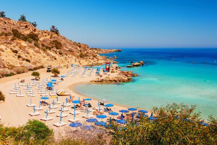 Кипрский Nissi beach