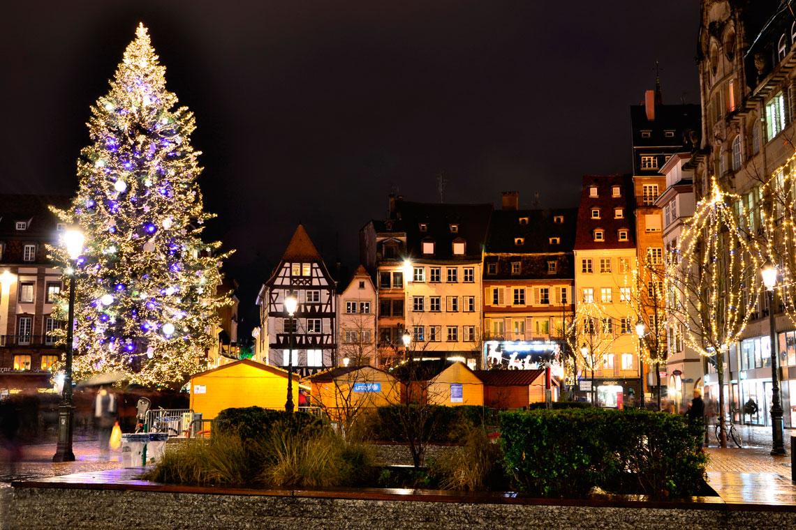 Достопримечательности Страсбурга -Рождество в Страсбурге