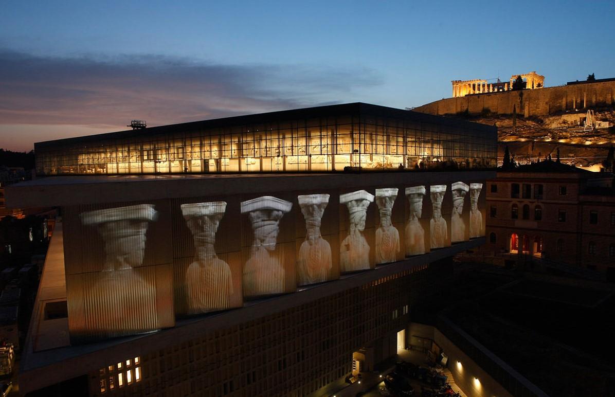 Музеи Европы -Музей Акрополя