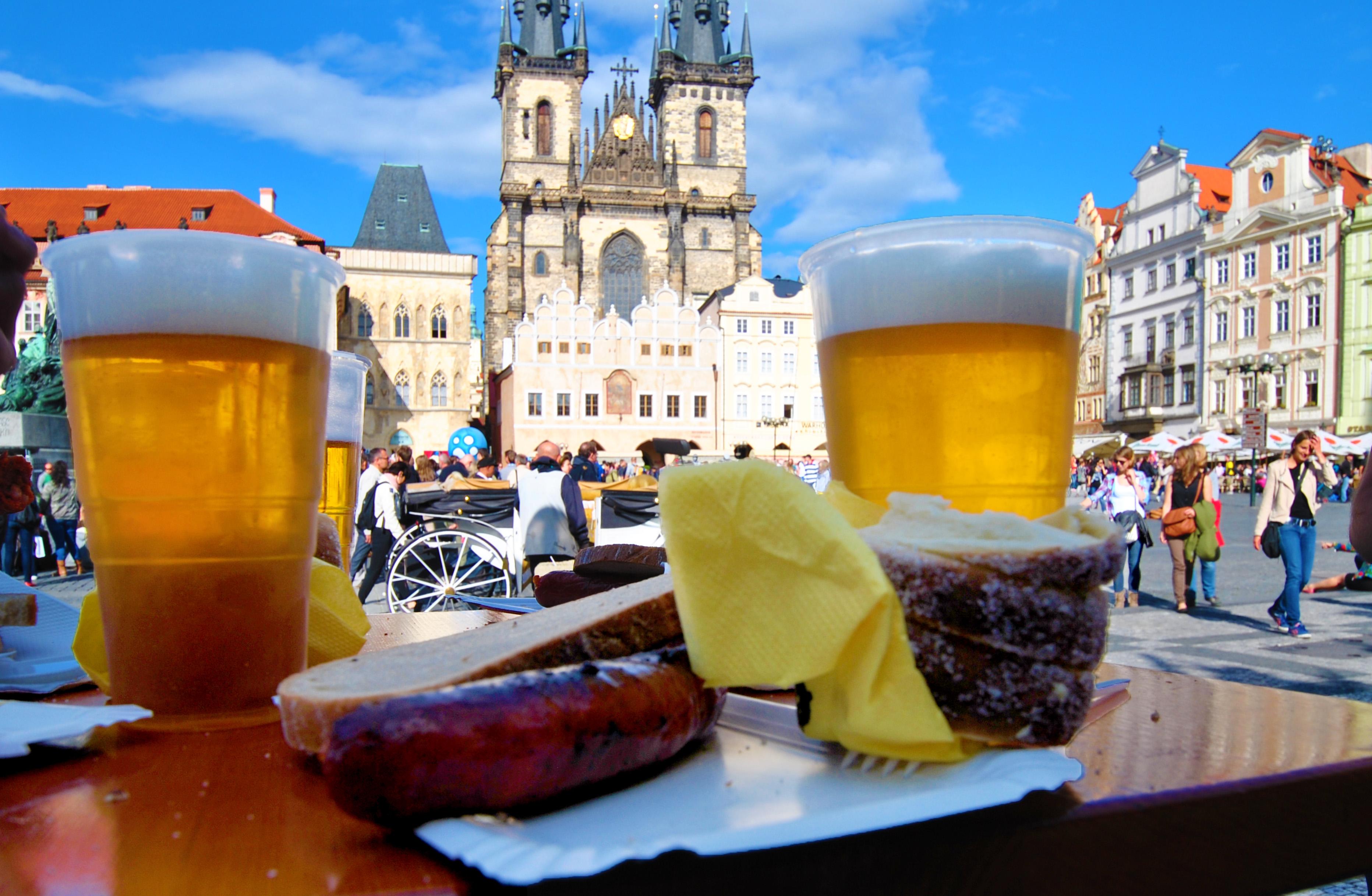 Пиво – национальный напиток Чехии