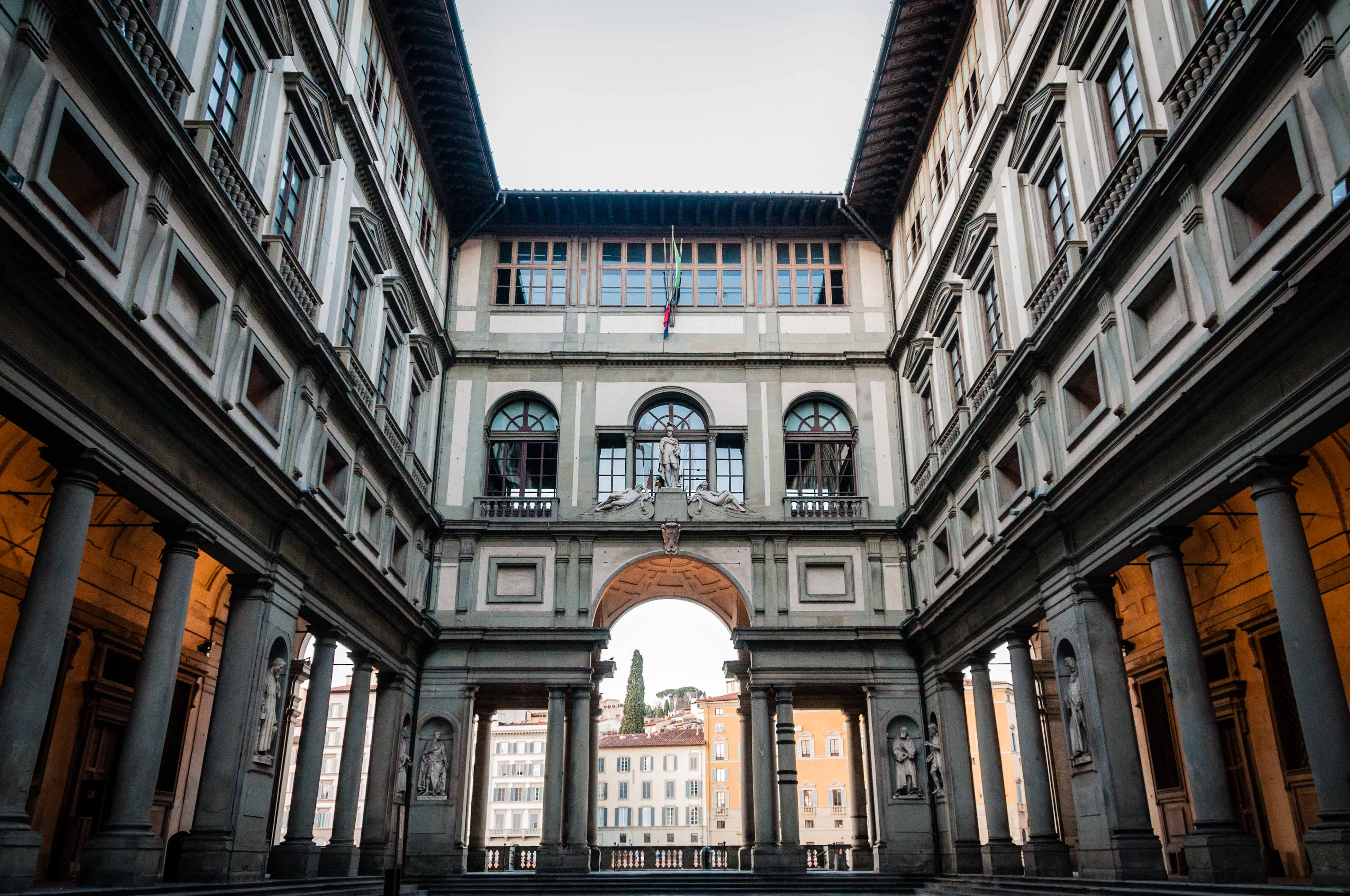 Музеи Европы - Галерея Уффици во Флоренции