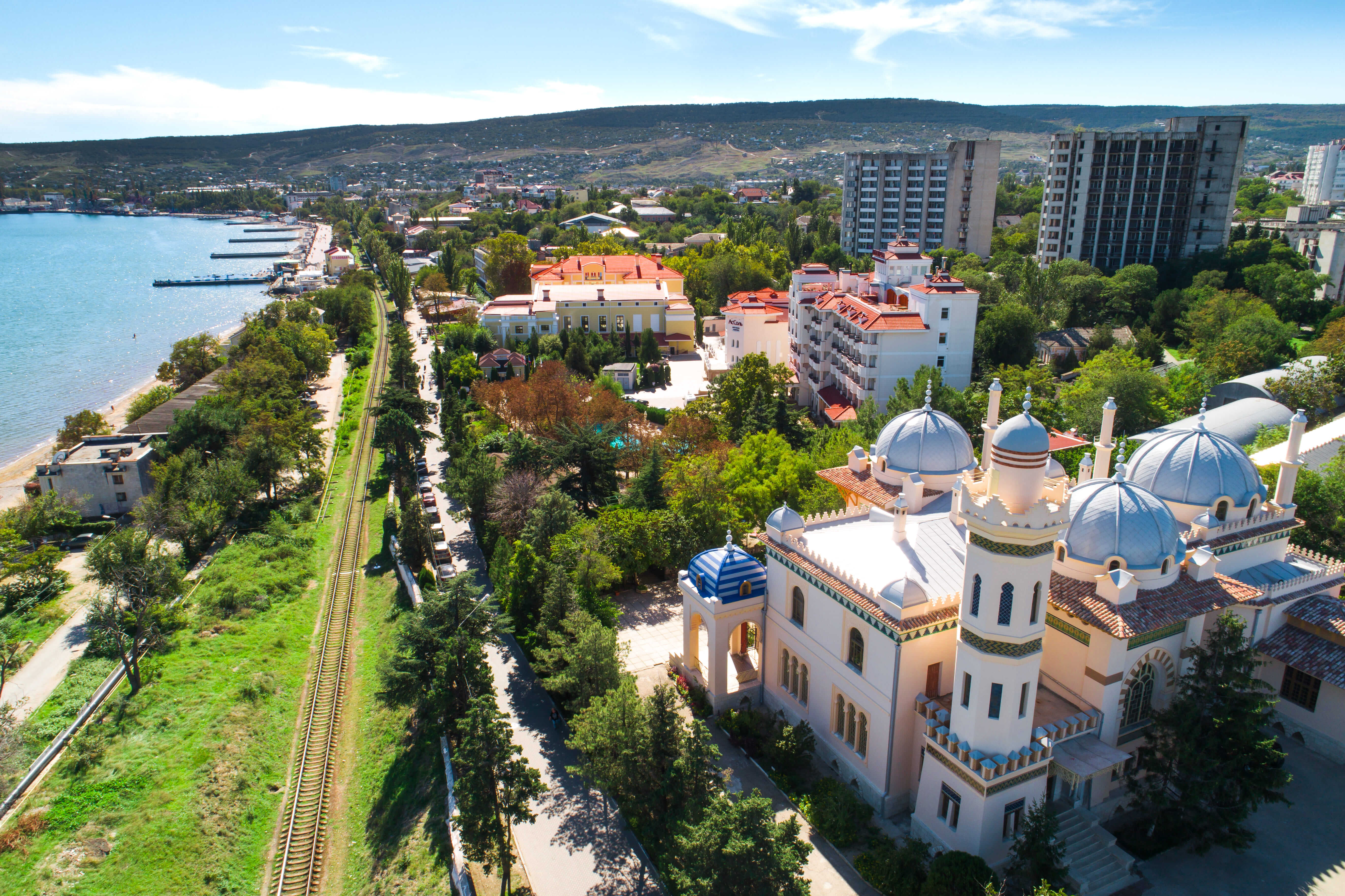 Курорты Крыма - Феодосия