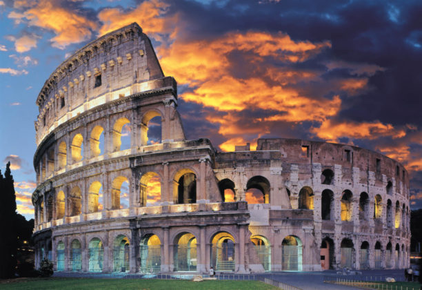 Колизей или амфитеатр Флавиев - памятник архитектуры Древнего Рима