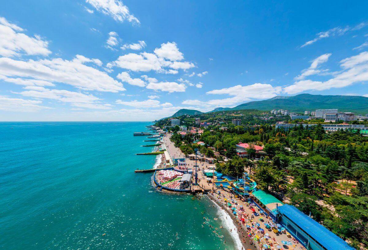 Курорты Крыма - Алушта