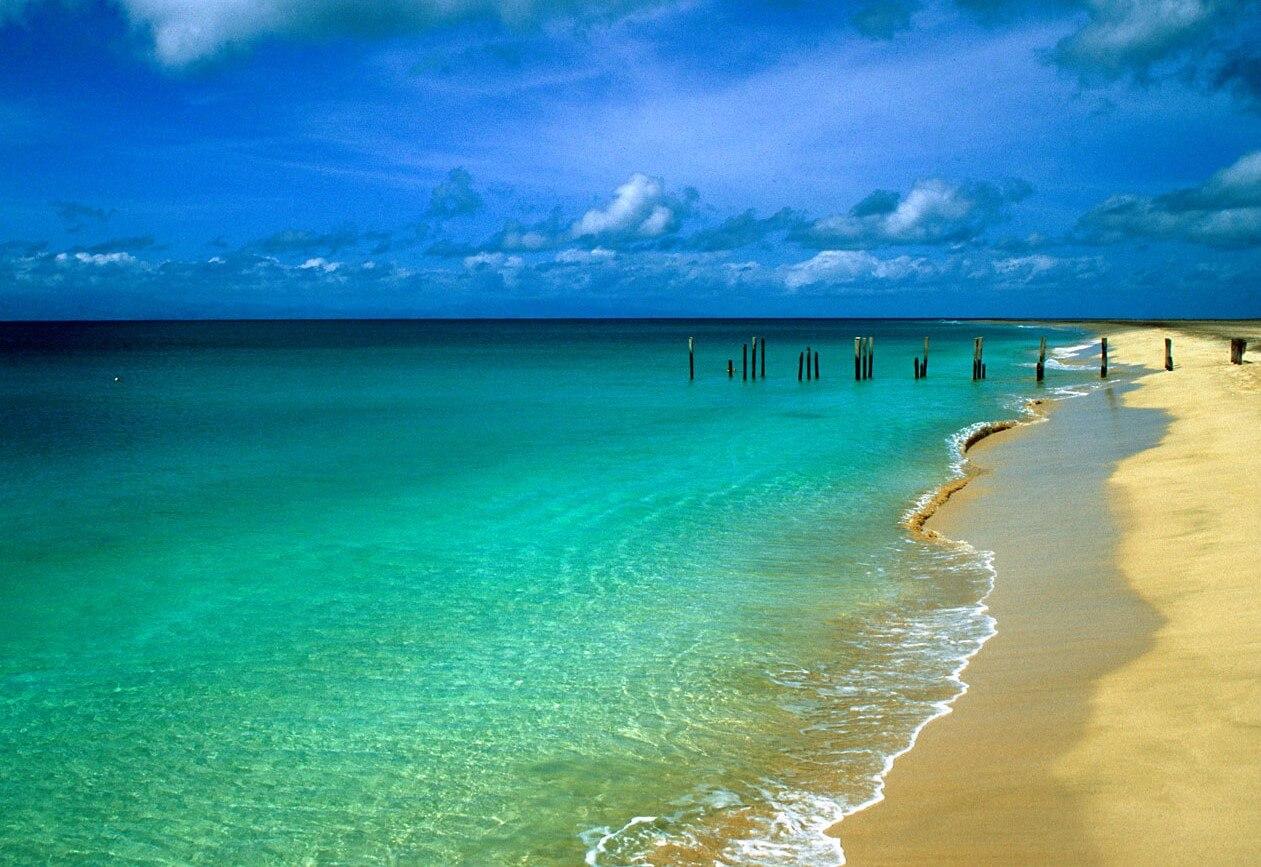 Африка для путешествий - Безлюдные пляжи Кабо Верде