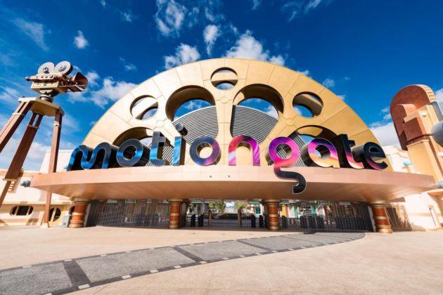Motiongate Dubai - это тематический парк в стиле Голливуда