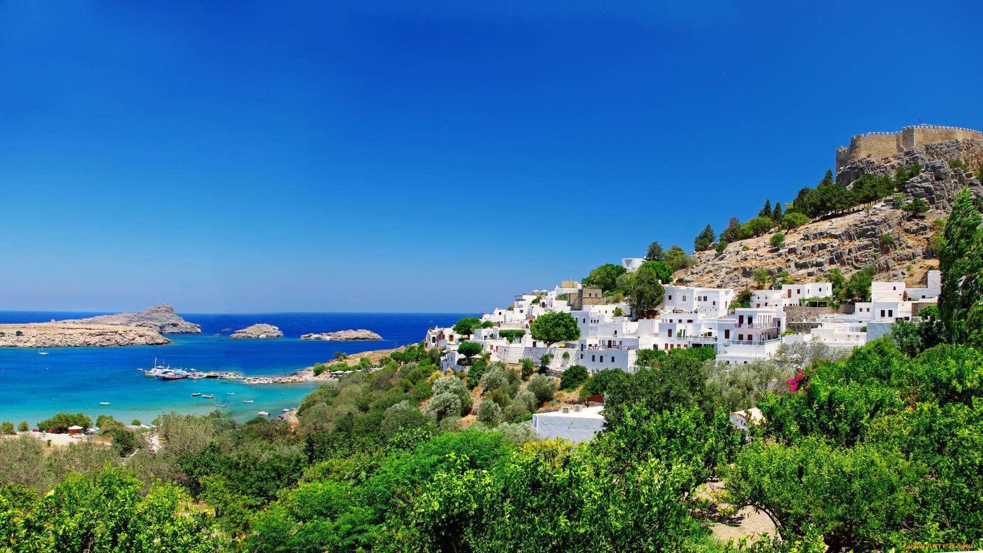 Остров Родос - Древний город Линдос