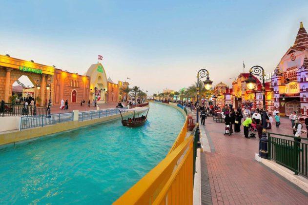 Парк Global Village в Дубае
