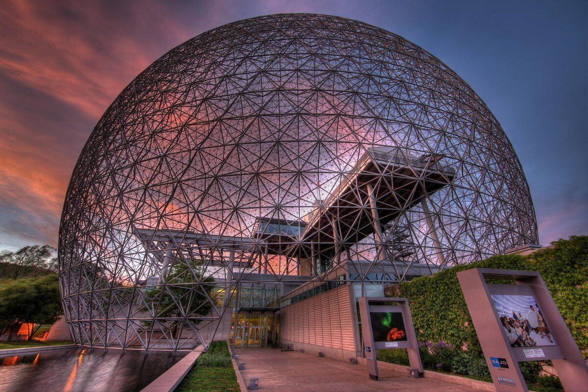 Достопримечательности Монреаля - Музей Биосфера в Монреале