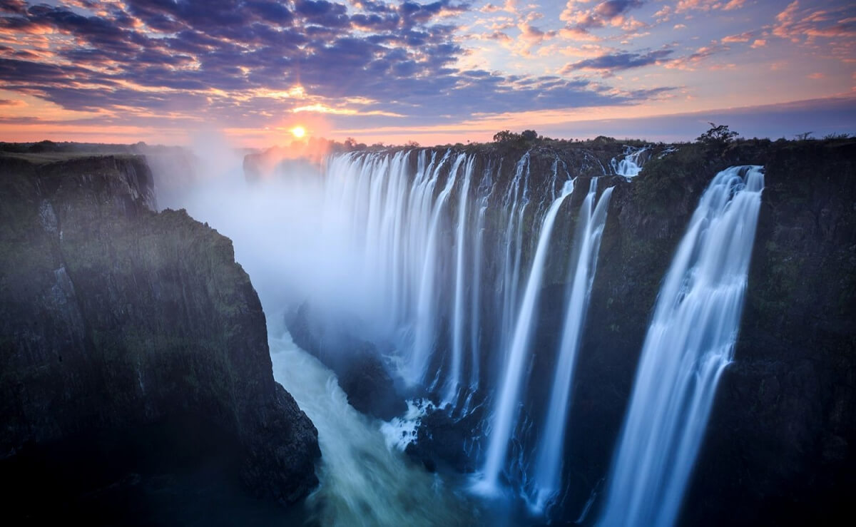Африка для путешествий - Водопад Виктория
