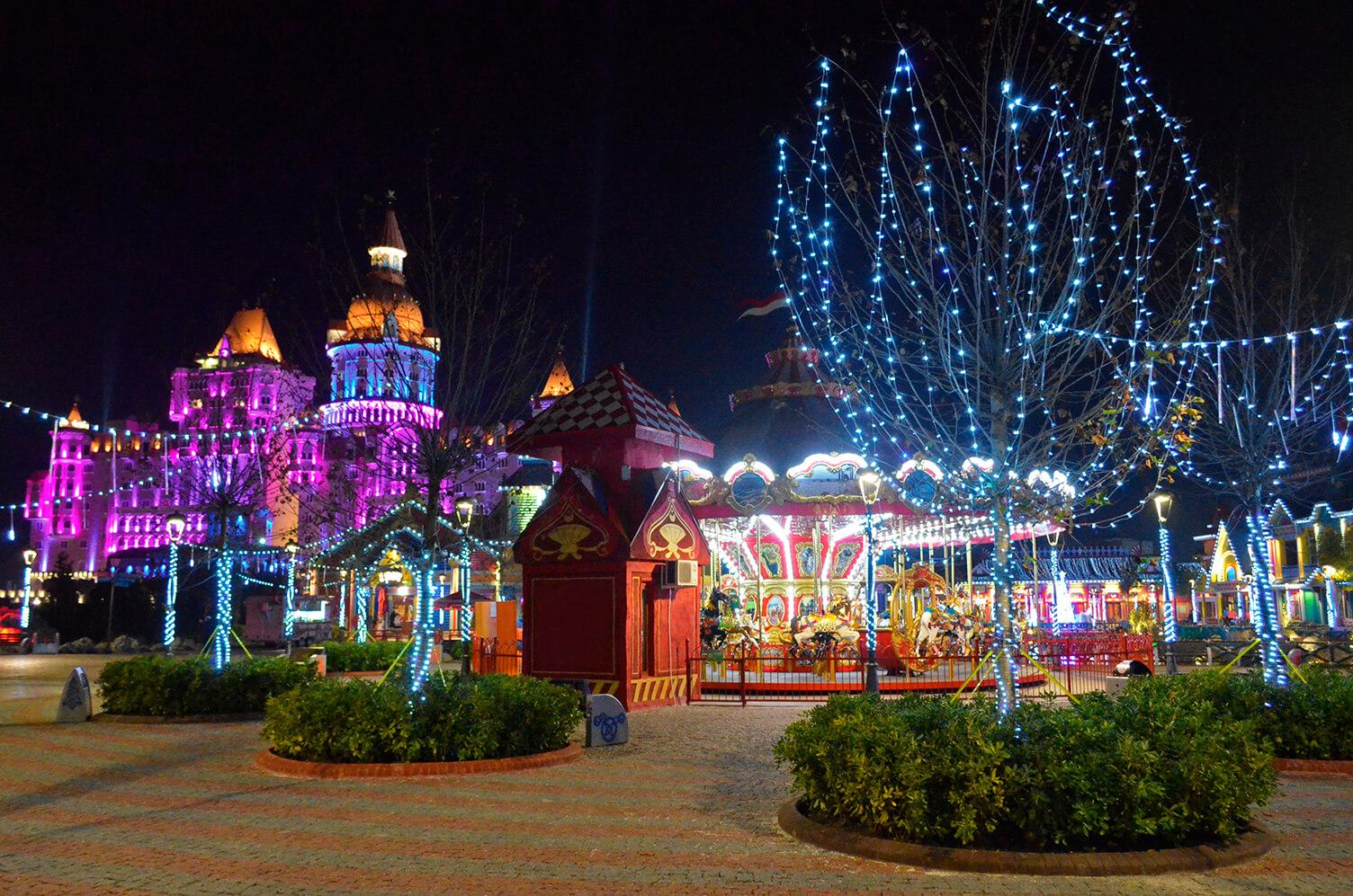 Сочи парк на новогодние праздники - Где отдохнуть в декабре