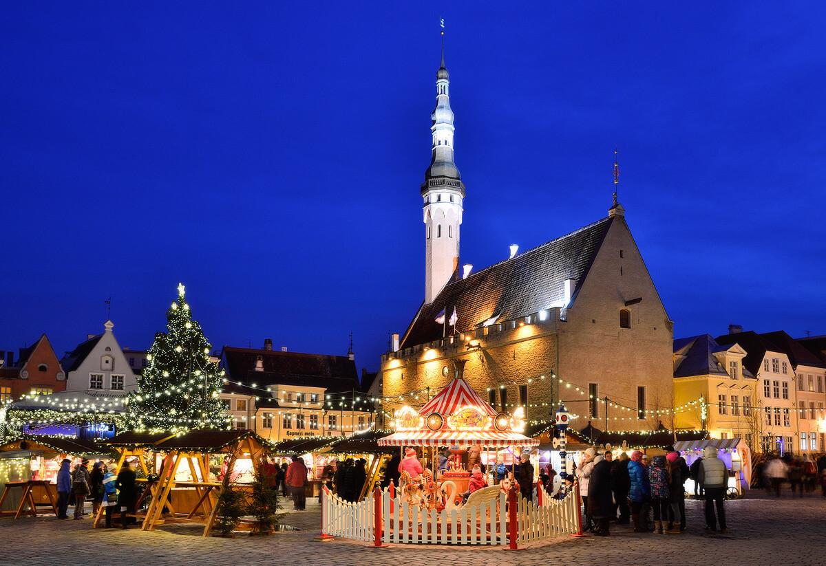 Рождество на Ратушной площади