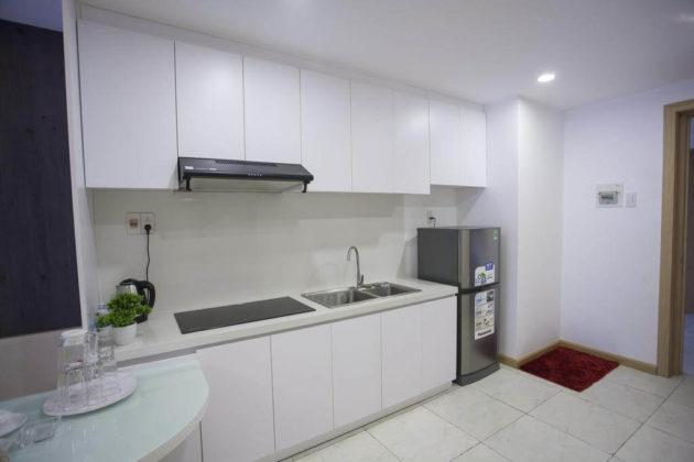 Обустроенная кухня в номере