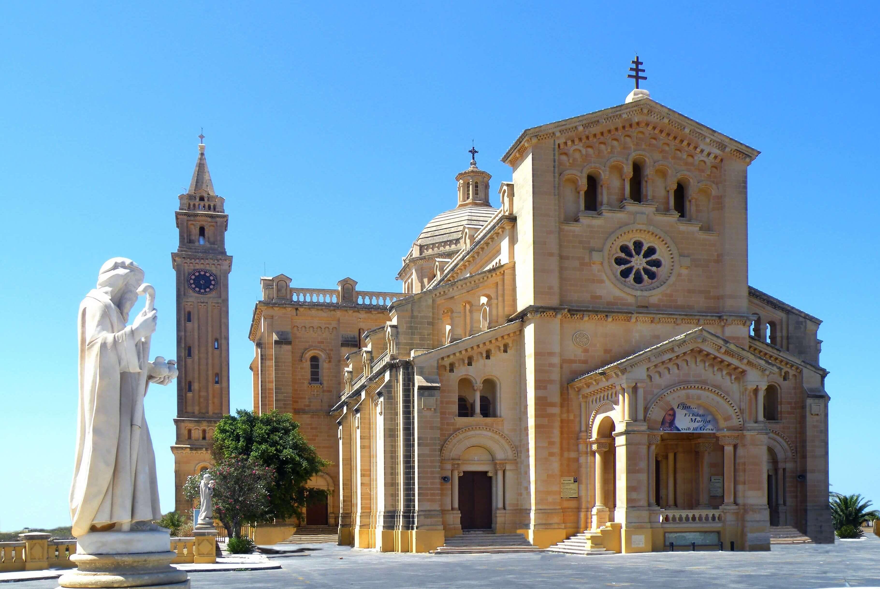 Храм Девы Марии Та-Пину - Что посмотреть на Мальте