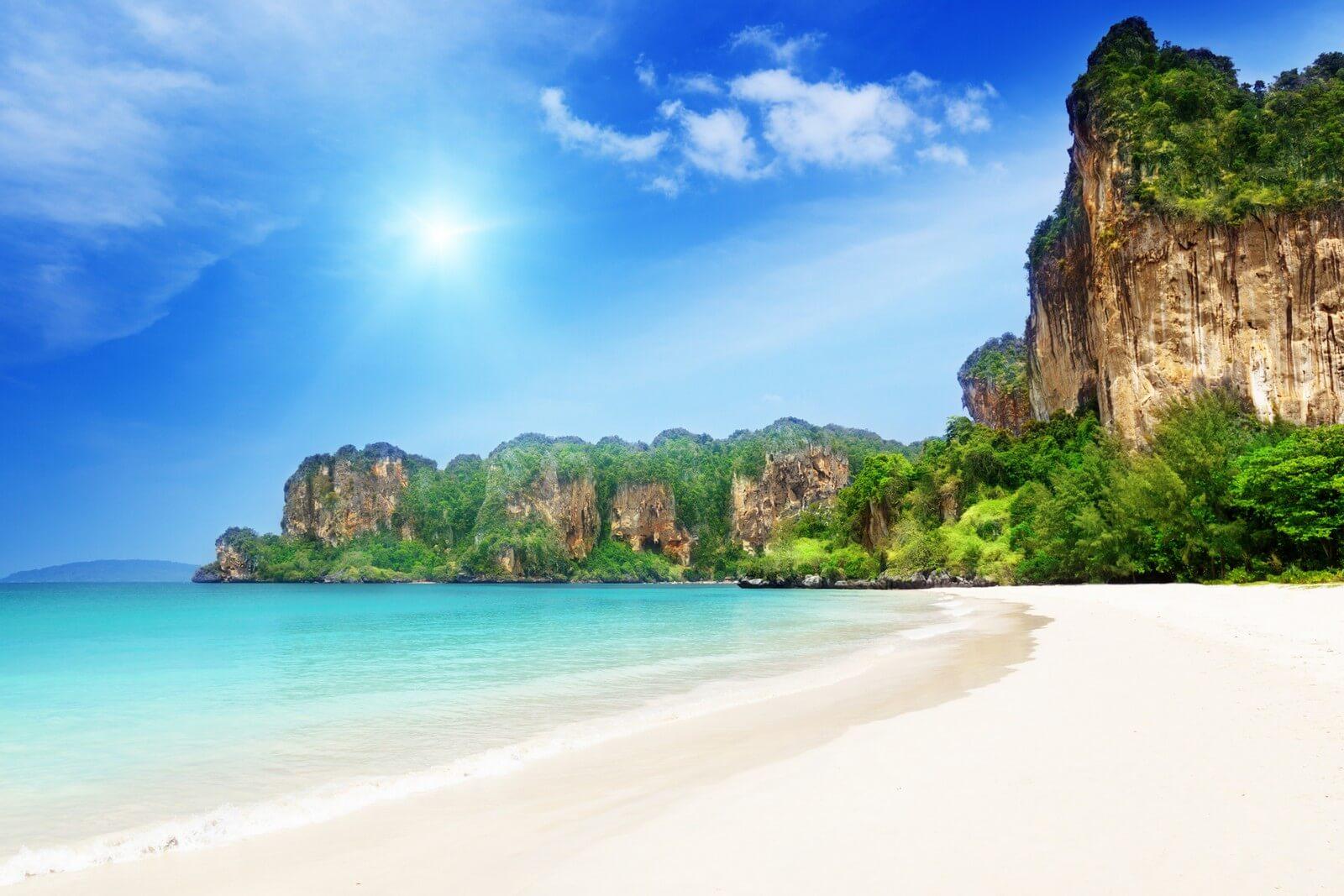 Пляж Рейли Бич Краби