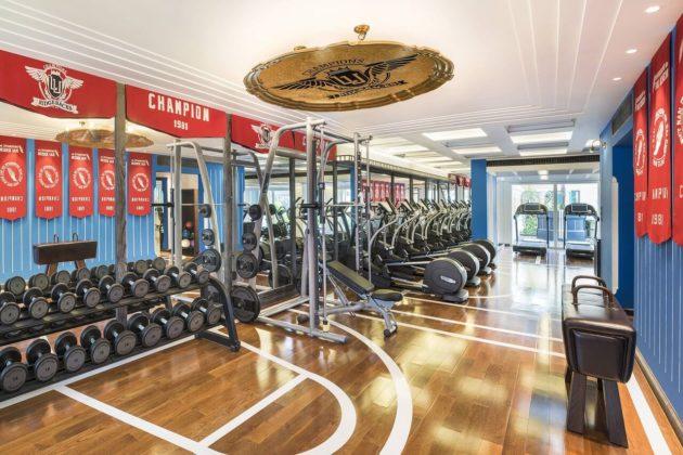 Фитнес-центр в отеле