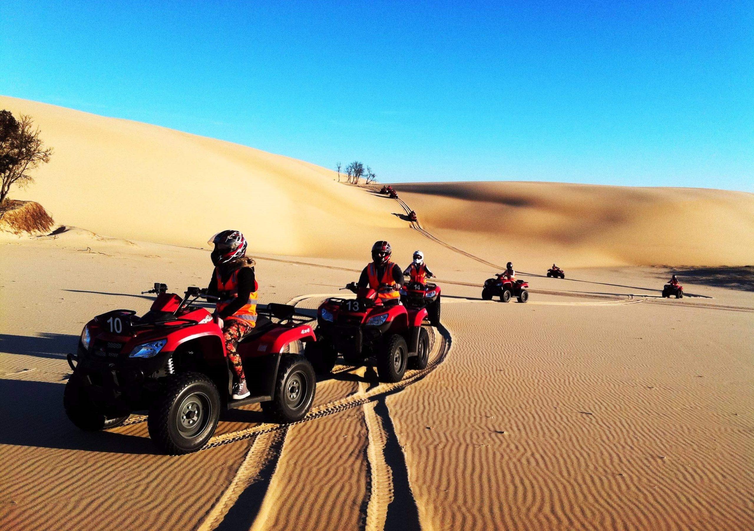 Тур по пустыне на квадроциклах