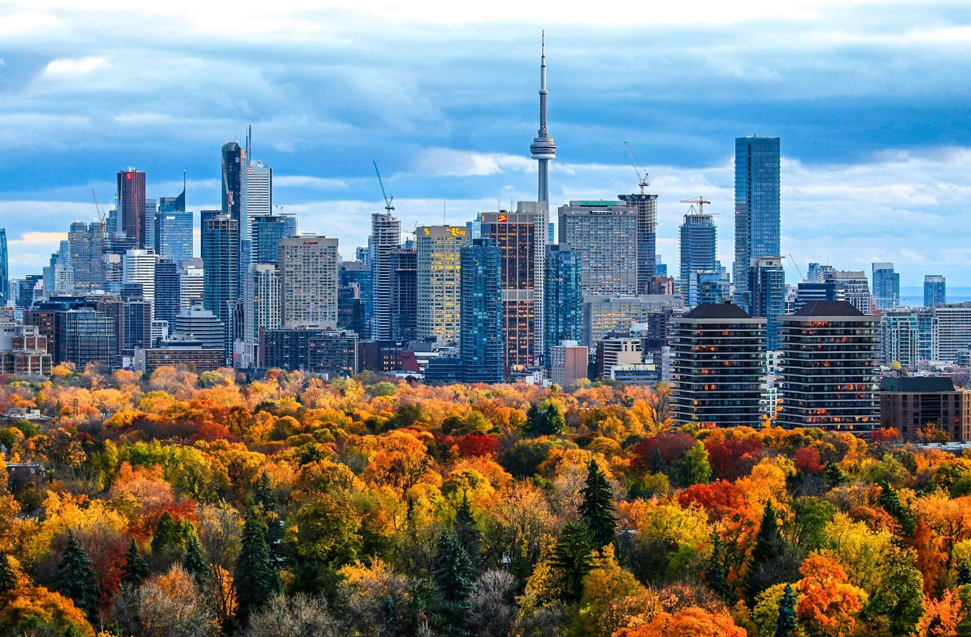 Торонто осенью